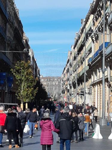 photo de la rue Alsace Lorraine à Toulouse